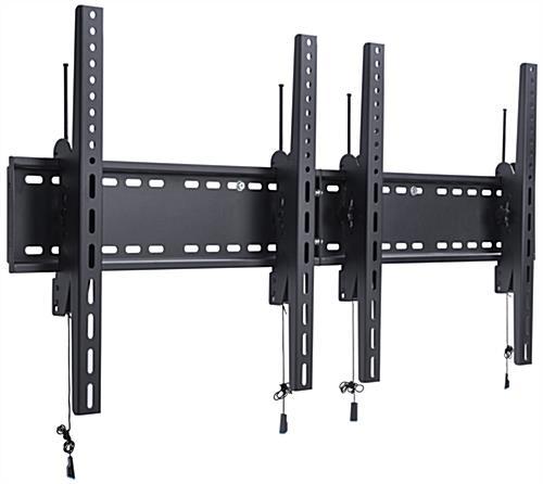 vesa compliant 2monitor wall portrait tv bracket