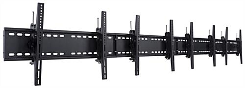 4-Monitor Wall Bracket, Easy to Setup