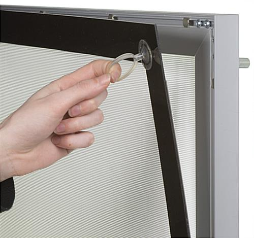 "Magnetic Framed Light Box, 115"" Power Cord Length"