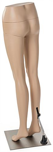 Lower Body Female Mannequin with Fair Skin Tone