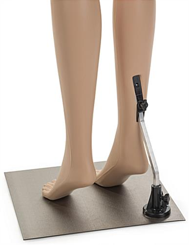 Lower Body Female Mannequin with Calf Rod