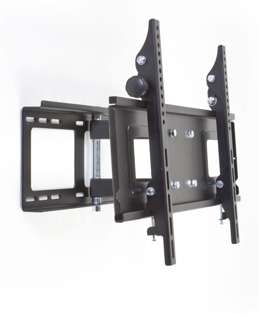 Flat Wall Mount Extends To Provide A Great View With