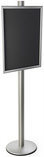 Aluminum 22x28 Snap Open Display Stand