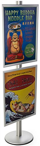 Double Sided 22x28 Sign Display Stand