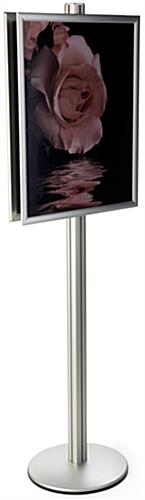 Silver 22x28 Sign Display Stand