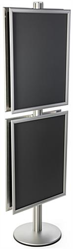 Double Sided 22x28 Snap Frame Poster Stand