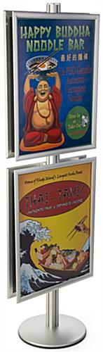 Silver 22x28 Snap Frame Poster Stand