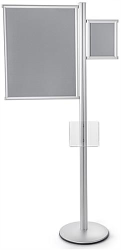 Acrylic Pocket Multi Literature Poster Sign Display Stand