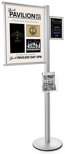 22 x 28 Multi Literature Poster Sign Display Stand