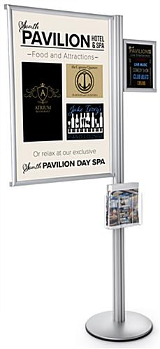 24 x 36 Multi Literature Poster Sign Display Post