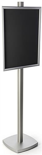 Aluminum 22x28 Snap Frame Display Stand