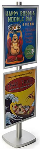 Aluminum 22x28 Sign Display Floor Stand