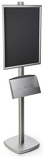 22x28 Pedestal Poster Stand with Square Base