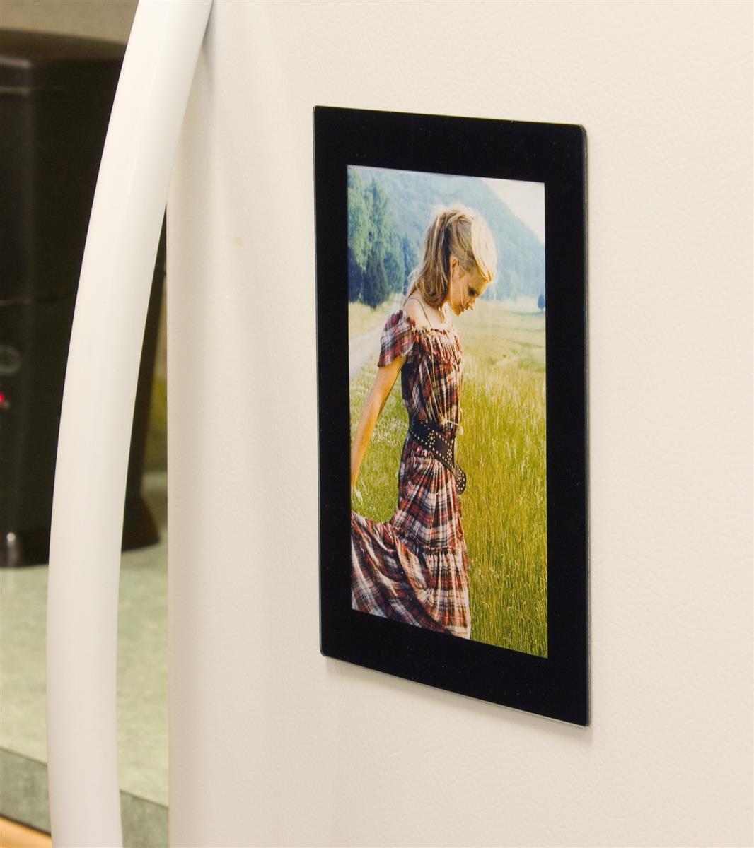Magnet Picture Frames 5 x 7 Print Holder for Refrigerators
