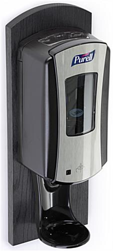 Black Purell Wall Dispenser for Public Places
