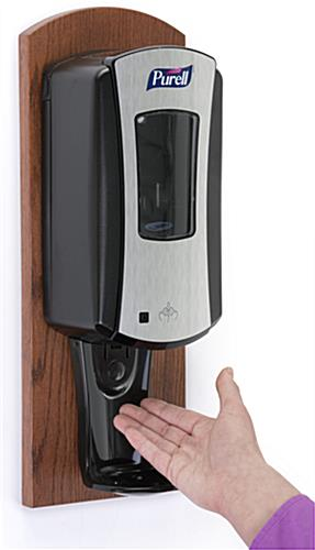 Cherry Purell Wall Dispenser Features Drip Tray