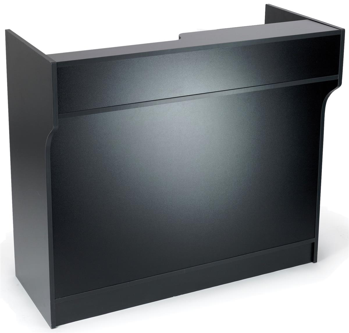 Black Register Stand Ledgetop Amp Melamine Construction