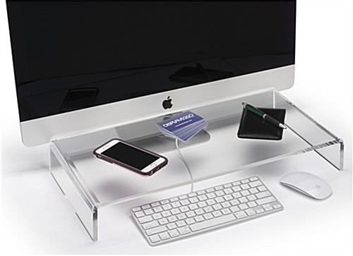 Workstation Acrylic Monitor Stand