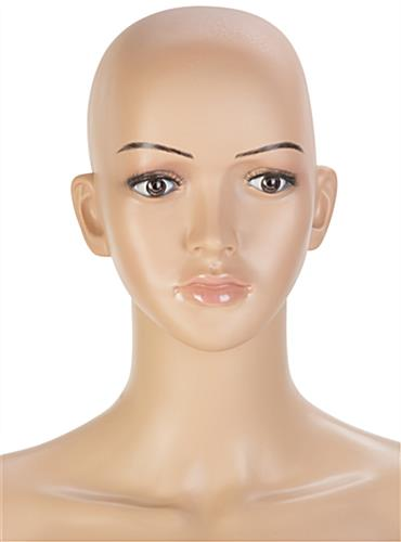Full Size Female Mannequin with Painted Eyebrows