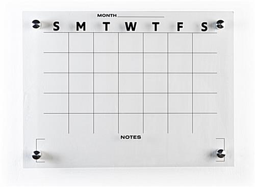24 x 18 whiteboard monthly planner