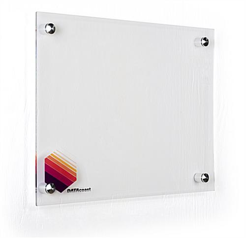 2 ft. wide and 1.5 ft. tall custom dry erase board