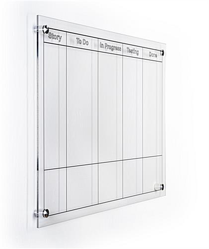 Multifunctional custom printed dry erase board