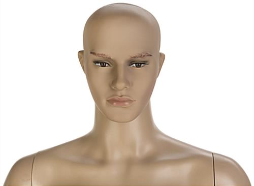 Male Cheap Mannequin with Eyelashes
