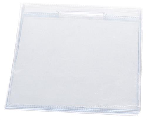 Clear Menu Sleeves