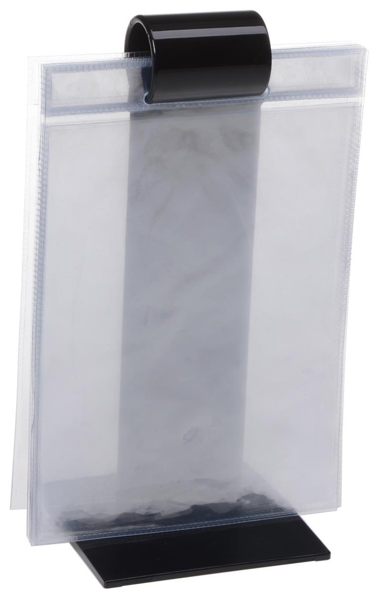 Roll Menu Plastic Sleeve Countertop Display