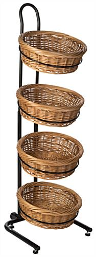 Round Wicker Basket Attachment for MMRT Stands