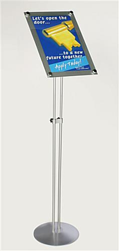 These Poster Frames with Adjustable Legs also have an Adjustable ...