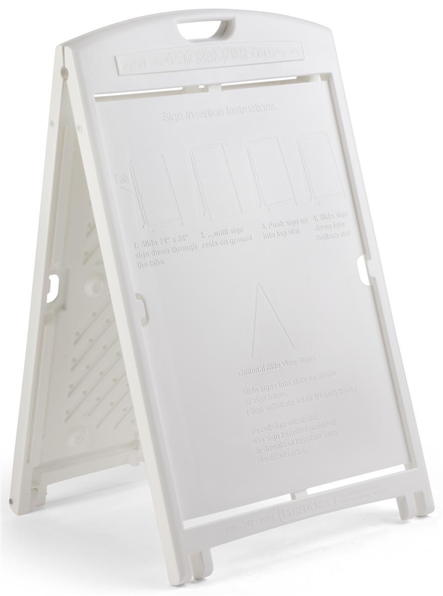 24 X 36 Plastic Sign Board Frame
