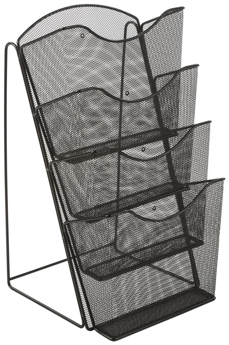 Mesh Counter Magazine Rack Steel Wire