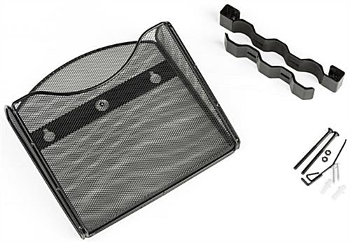 Metal Mesh Pocket w/ Mounting Bracket