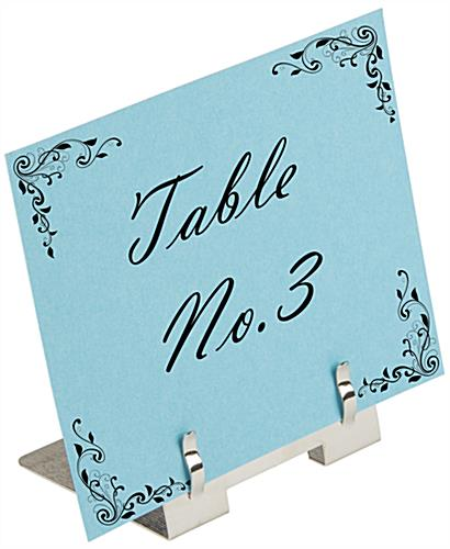 Metal Place Card Clip for Seating Arrangements