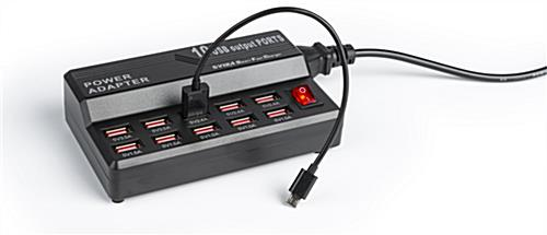 (10) Port Charger for LED Menu Series (cable not included)
