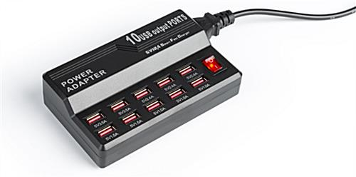 (10) Port Charger