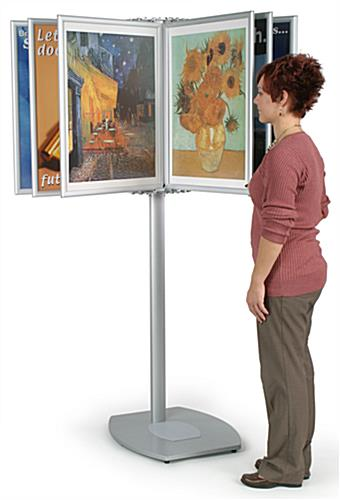 "Panel Display Systems: (10) 22"" x 28"" Poster Holders"