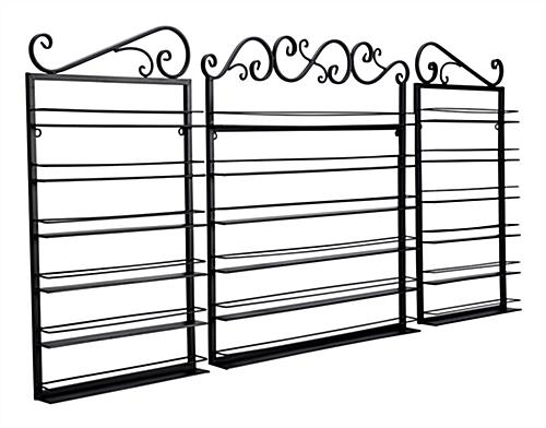 nail polish wall holders with mild steel construction