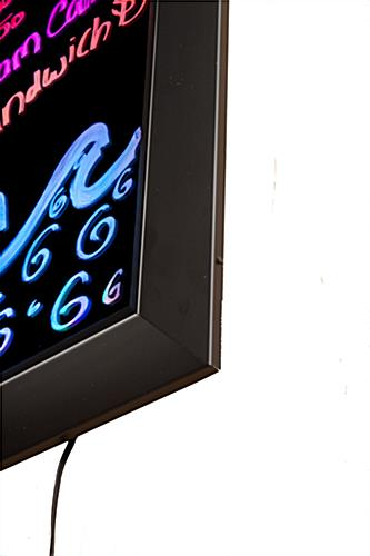 Write-On LED Sign