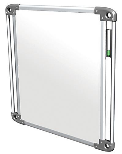 portable whiteboard tablet aluminum frame. Black Bedroom Furniture Sets. Home Design Ideas