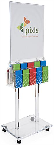 acrylic poster display racks