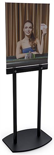 "67"" Tall Floor Display For Poster"