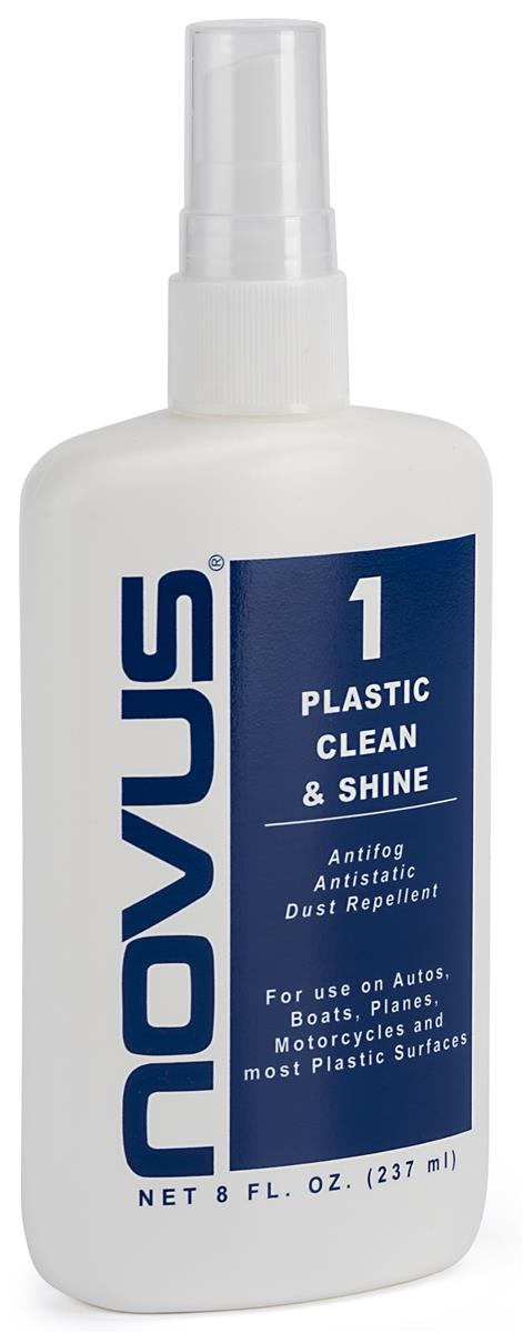 NOVUS acrylic cleaning solution with scratch and dust repelling properties