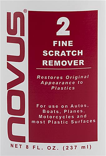 NOVUS complete plastic polish kit with fine scratch remover