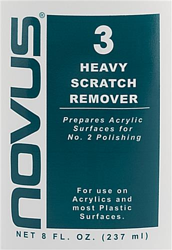 NOVUS complete plastic polish kit with heavy scratch remover