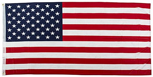 Polyester Knit 3' x 5' American Flag
