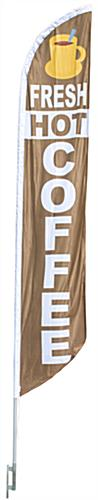 "14' Tall ""Coffee"" Banner Flag"