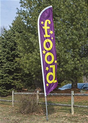 "Outdoor ""Food"" Banner Flag"