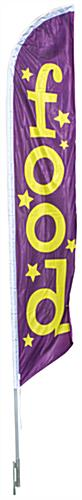 "14' Tall ""Food"" Banner Flag"